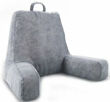 Bed Rest Pillow Reading TV Cushion Back Arm Head Support With Foam Shreds