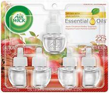 Air Wick Scented Oil - Refill Apple Cinnamon Medley 5 ct.(5x.67) oz