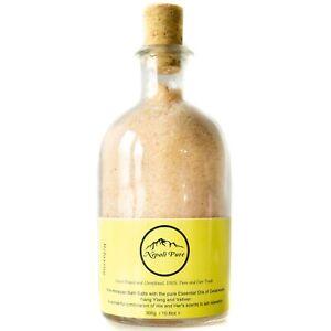 RELAXING PINK HIMALAYAN BATH SALT Organic & Handmade 300g