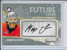 10-11 Between The Pipes Maxime Clermont Future Stars Auto