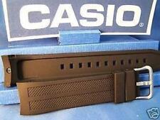 Casio Watch Band AMW-706 and AMW-704.Black Resin w/Pins.Original watchband.Strap