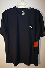 Puma T-Shirt Large Navy Blue Performance Essential