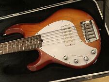 Ernie Ball Music Man Stingray Bass Guitar- 5 string left handed