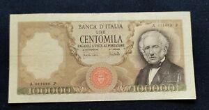 Lire 100000 Manzoni 1970