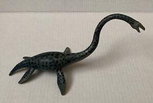Vintage 1998 Safari Carnegie 11in Elasmosaurus Blue Grey Black