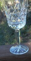 LENOX CHARLESTON WINE  / WATER GOBLET about 7 1/2 inches high