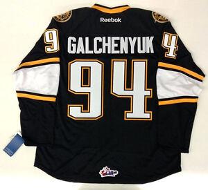 ALEX GALCHENYUK RBK PREMIER SARNIA STING JERSEY MONTREAL CANADIENS