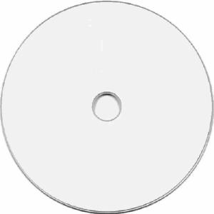 50 DVD+R Dual Double Layer White Inkjet HUB Printable DL Disc