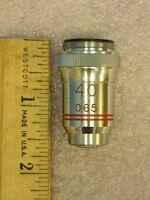 Swift E Microscope Objective Lens 40x/0.65
