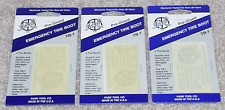 Park Tool TB-1 Pre-Glued Emergency Tire Boots / Tube Patch Kits - QTY 3 NEW!