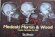 Medeski Martin & Wood Fillmore Poster BGF808 ORIGINAL BILL GRAHAM Chris Peterson