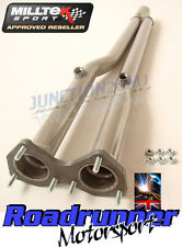 GOLF MK4 R32 DE CATS MILLTEK EXHAUST STAINLESS *NEW* MSVW249REP