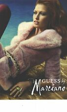 PUBLICITE ADVERTISING  2012   GUESS BY MARCIANO haute couture