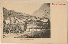 VALLE STURA - PONTE BERNARDO - PIETRAPORZIO (CUNEO)