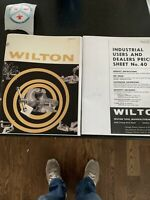 Wilton Tools Bullet Vise 1960 Dealer Catalog & Price Sheet Reprint Wilton Vice