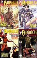 Barack the Barbarian: Quest for Treasure of Stimuli #1-3 (2009) DDP - 4 Comics