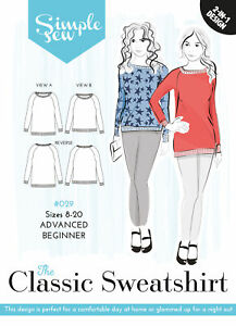 Simple Sew Sewing Pattern The Classic Sweatshirt