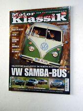 MOTOR KLASSIK 2-06+SAMBA BUS+LANCIA STRATOS+BORGWARD RS+OPEL MANTA A+FIAT 500