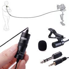 Boya By-m1 Lavalier Clip Microfono per Samsung iPhone 5s 6 Plus Fotocamera Lf480
