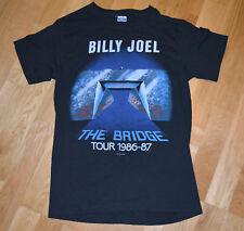 *1986-87 BILLY JOEL* vintage rock concert tour t-shirt (S/M) Rare 80's Piano-Man