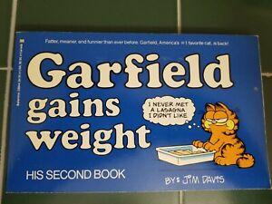 Garfield Gains Weight His 2nd Book Jim Davis Vintage First Edition 1981