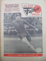 FUWO 15 - 14.4. 1964 Knobloch BFC-Erfurt 0:1 Jena-Halle 1:1 Rostock-Zwickau 3:0