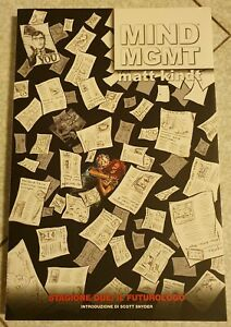 MIND MGMT STAGIONE DUE IL FUTUROLOGO - MATT KINDT DARK HORSE PANINI COMICS