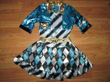 Girls MONSTER HIGH Halloween Costume L Lg 12 - 14 Costumes USA