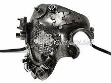 Steampunk One Eye Phantom Half Face Masquerade Mask Custom Prom Party Mask