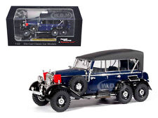 1938 MERCEDES G4 BLUE 1/43 DIECAST CAR MODEL BY SIGNATURE MODELS 43710