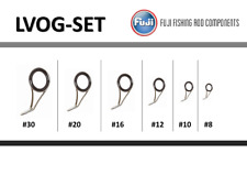 Fuji Lvog Set O Ring Lv Stainless Guides Fishing Rod Building Component - 6 pcs.