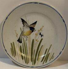 Fitz & Floyd Oiseau Bird Salad Plate 7 5/8� Vintage 1977 Excellent Pre-Owned
