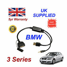 BMW 3 Series (611204407) per Apple 3gs 4 4s IPHONE IPOD USB CAVO AUX & 3.5mm