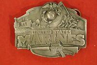United States Marines Pewter Buckle
