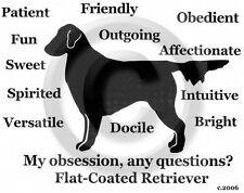 Flat Coated Retriever Dog Obsession? Long sleeve T-shirt choice Sale