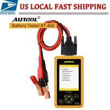 Autool BT-460 Car Battery Tester Charging System Analyzer for 12V 24V Vehicle