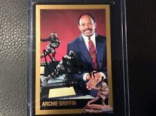 Archie Griffin Ohio State  AUTOGRAPHED official RARE Heisman Series THREE card