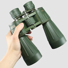 15X60 Germany Military Powerful Binocular Army Green Professional Telescope HD