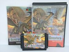 Master de monstruos ref CCC Mega Drive Sega Md