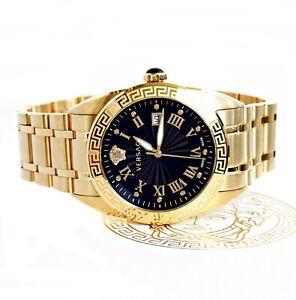 Versace Herrenuhr Uhr VFE160017 V-Sport IP Gold  SWISS MADE  NEU