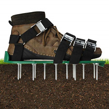 EIVOTOR Lawn Aerator Shoes, Professional Lawn Aerator Sandals, Reusable Lawn