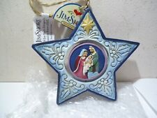 New Jim Shore Star Shaped Christmas Swivel Ornament Nativity Baby Jesus 2018