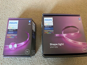 Philips Hue Lightstrip Plus [2m] And (1) Extension CablWhite and Colour Ambiance