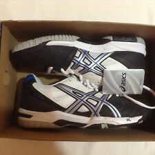 ASICS Mens New Sneker Onyx/Silver/White Shoes Size-  6.5 M