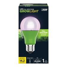 Feit Electric 9-Watt E26 A19 Greenhouse Full Spectrum Plant Grow LED Light Bulb
