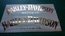 Harley Davidson Tank Aufkleber Günstig Kaufen Ebay