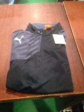 Puma 1/4 Zip Training Top Jacket. Black. Size Large. . NEW With Tags