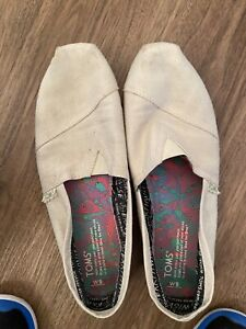 Toms Womens Natural Coral Earthwise PlusFoam Began Classics