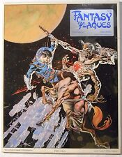 "Fantasy Plaques ""Free-Fall"" by Bernie Wrightson (1978, Sal Quartuccio) **NEW**"