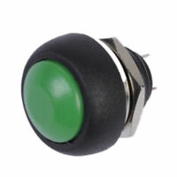 5X 12mm Waterproof Mini Round Momentary Push button Switch for Car Boat Green